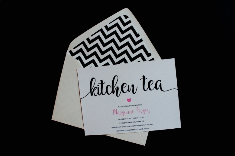 Sweetheart Bridal Shower Invitation